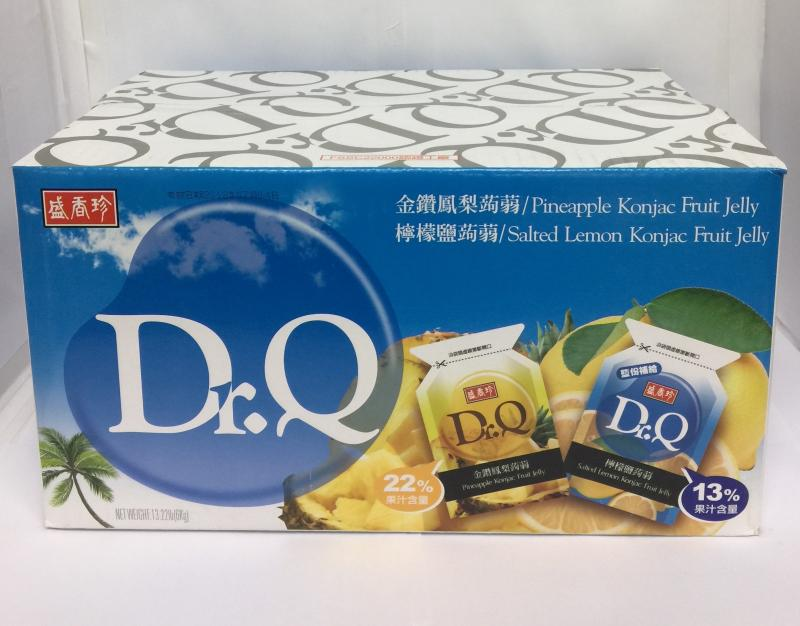 盛香珍.10斤DR.Q雙味蒟蒻(金鑽鳳梨+檸檬鹽)