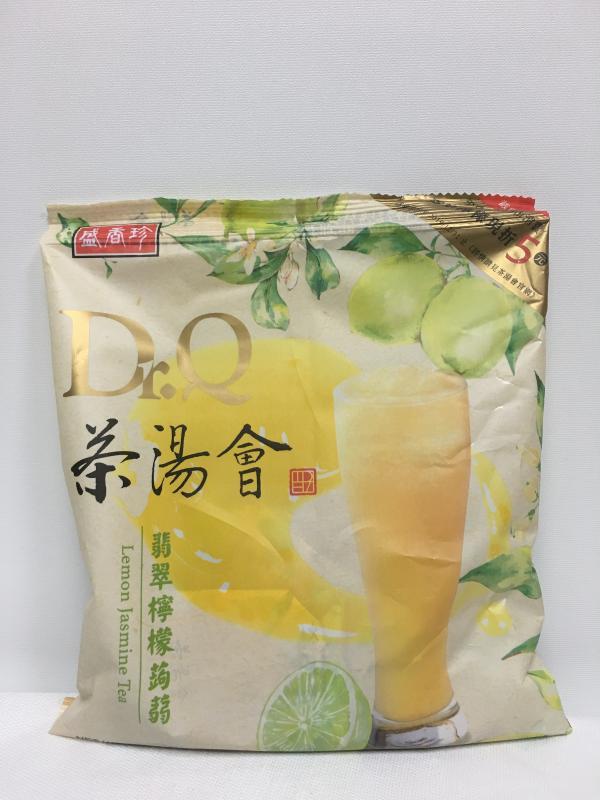 盛香珍.茶湯會)DR.Q翡翠檸檬蒟蒻210g