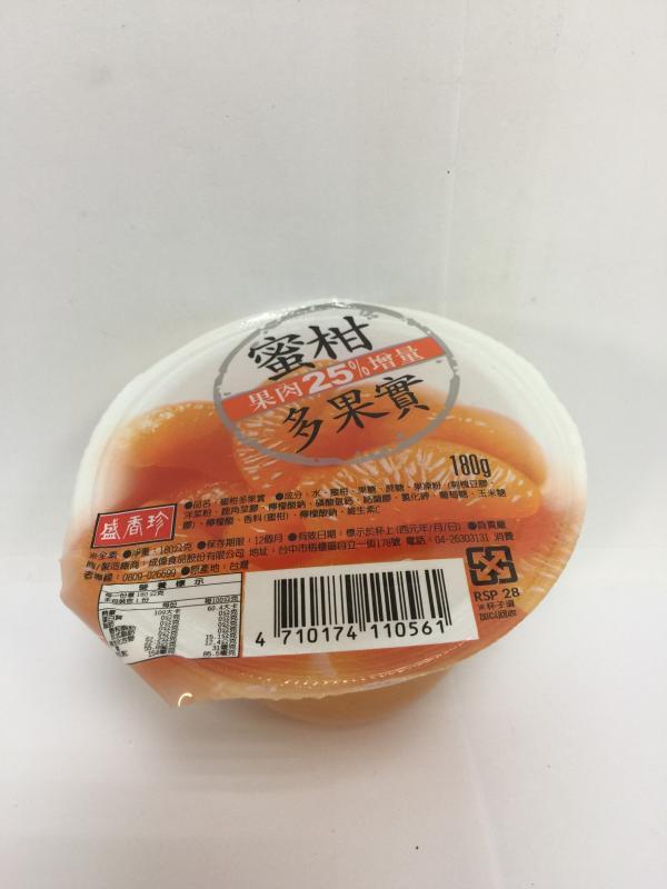 盛香珍.180g蜜柑多果實