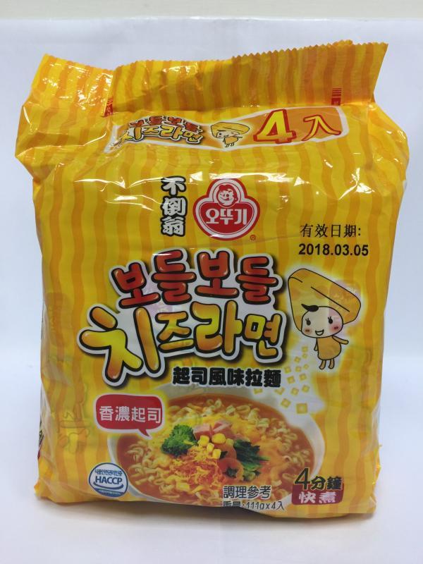韓國不倒翁拉麵(起司風味)