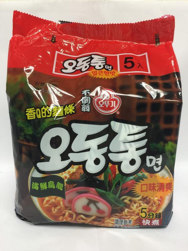 韓國不倒翁拉麵(海鮮烏龍)