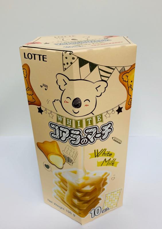 樂天.小熊餅家庭號-香濃煉乳