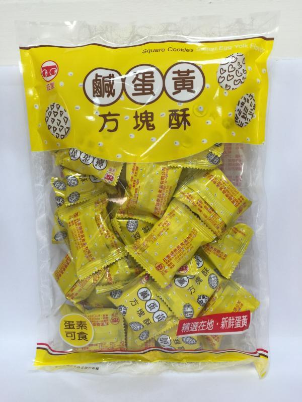 230g莊家鹹蛋黃方塊酥
