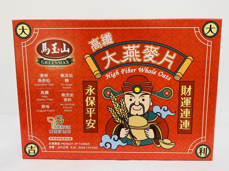 馬玉山.高纖大燕麥片300g(盒)