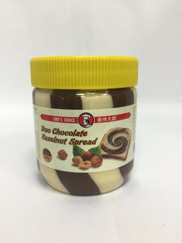 亞美樂(雙色)巧克力榛果醬