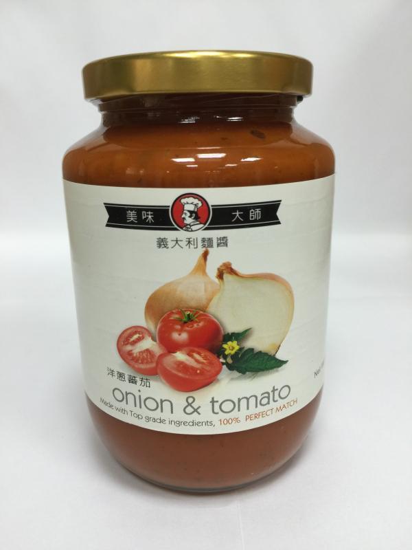 美味大師義大利麵醬-洋蔥番茄