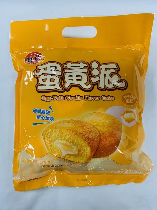 旺旺.野川(10入)蛋黃派190g