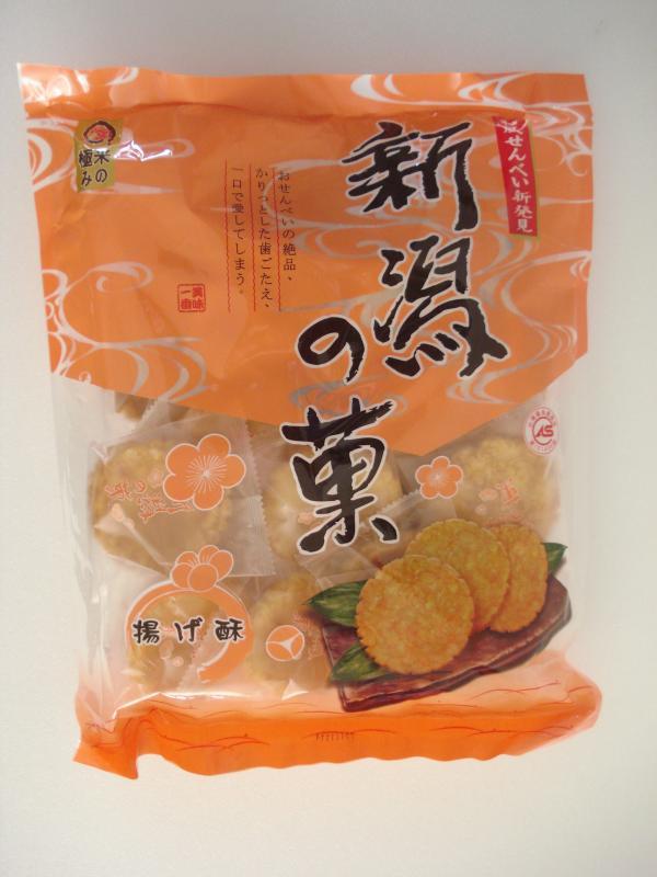 宜蘭食品-新潟米果-揚酥