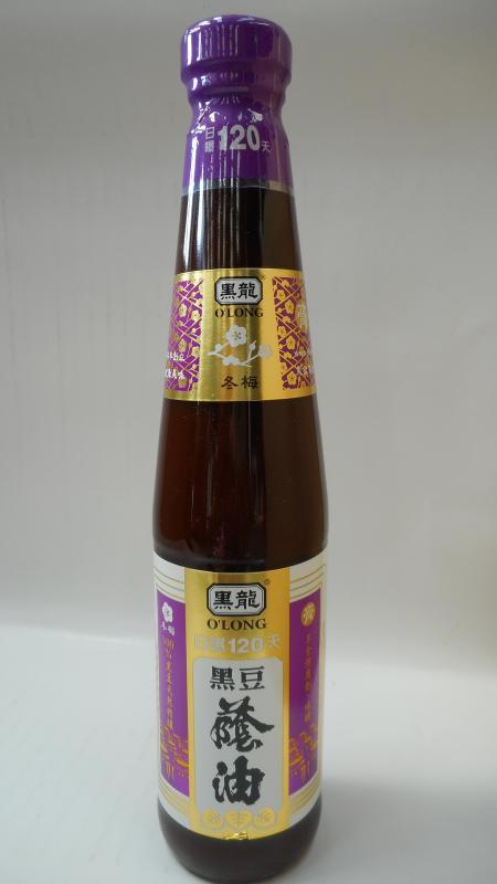 黑龍(三鷹)-冬梅黑豆蔭油(膏)