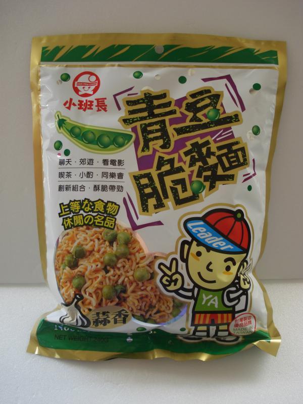 立豐-小班長青豆脆麵-蒜香
