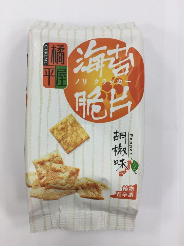 橘平屋.海苔脆片-黑胡椒