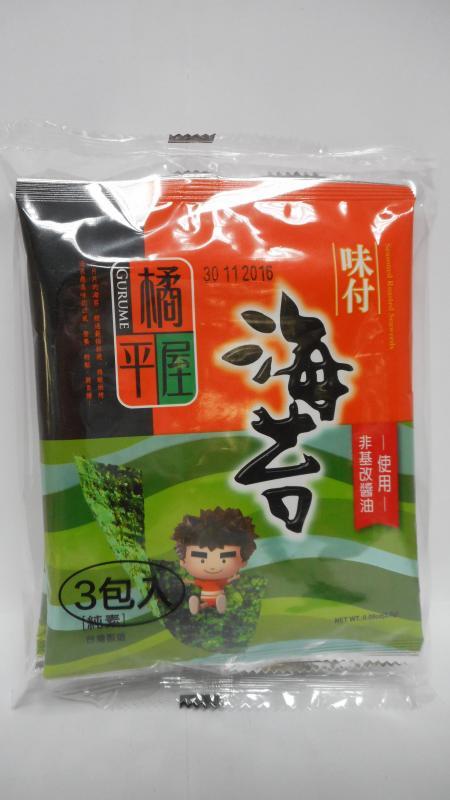 橘平屋味付海苔(6束)