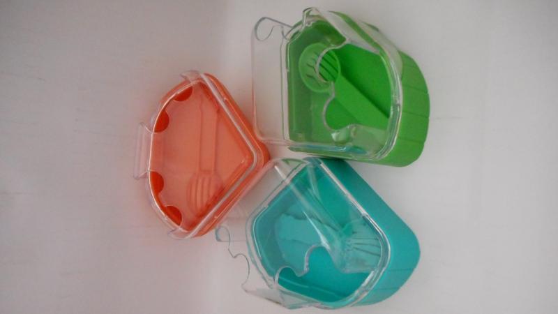 老鼠用沐浴盆(綠.藍.橘)