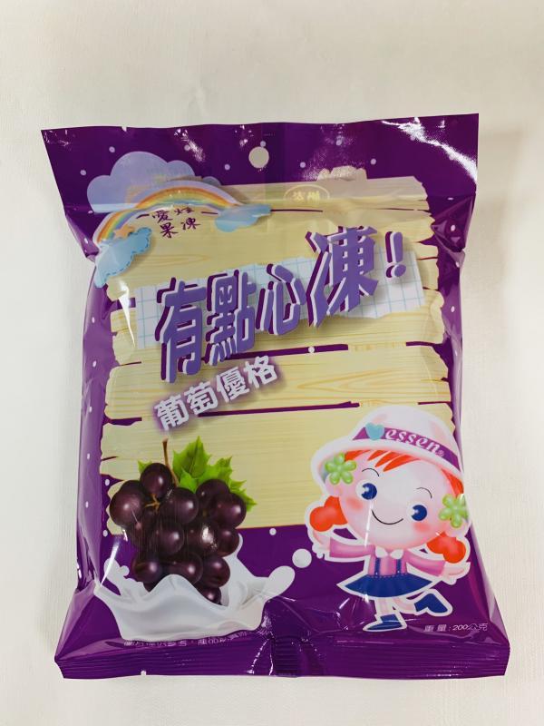 環碩.55元愛炫果凍(葡萄優格)200g