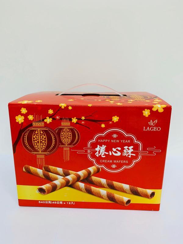 環碩.2021年拉吉ㄟ捲心酥禮盒540g