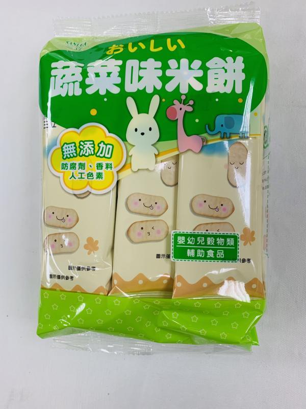 三立.蔬菜味米餅50g