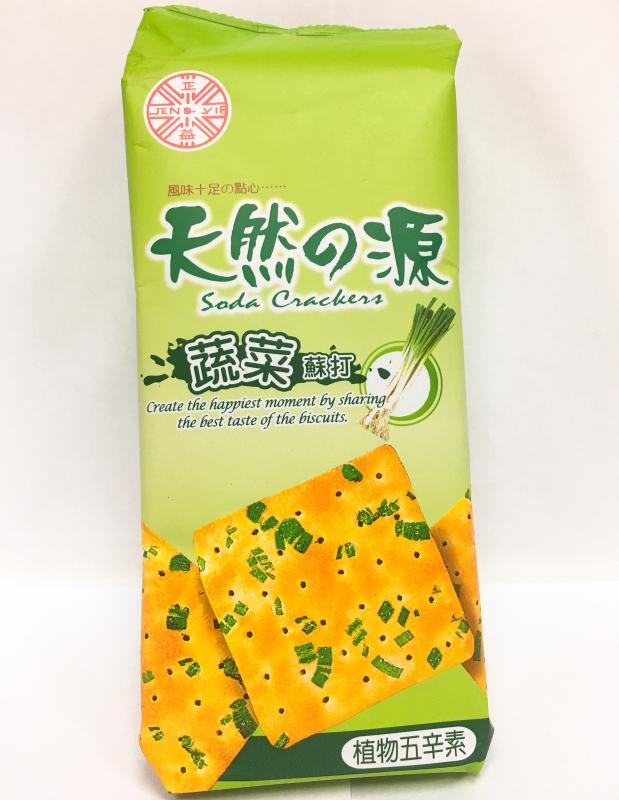 天然之顏(蔬菜)蘇打150g-正益