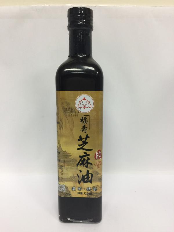 500ml福壽芝麻油